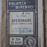Speronare Privelisti Si Amintiri Din Italia - Al. Dumas, 394540 - Carte veche