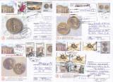 Bnk fil Lot 8 intreguri postale 2000 circulate, Dupa 1950