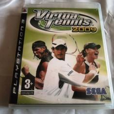 Joc Virtua Tennis 2009, PS3, original, alte sute de jocuri! - Jocuri PS3 Sega, Sporturi, 3+, Multiplayer