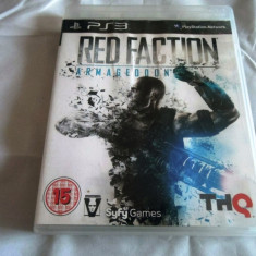 Joc Red Faction Armageddon, PS3, original, alte sute de jocuri! - Jocuri PS3 Sony, Shooting, 16+, Single player