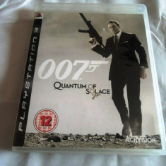 Joc 007 Quantum of Solace, PS3, original, alte sute de jocuri! - Jocuri PS3 Sony, Actiune, 18+, Single player