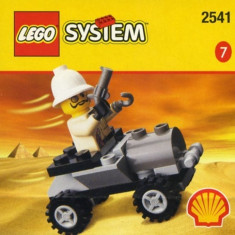LEGO 2541 Adventurers Car