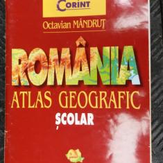 Romania- Atlas Geografic Scolar