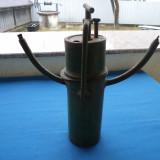 LAMPĂ MINER-VINTAGE - Metal/Fonta