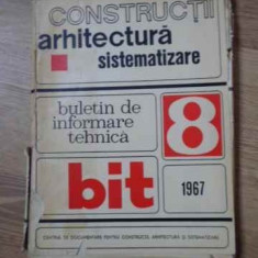 Constuctii, Arhitectura, Sistematizare. Buletin De Informare - Colectiv ,394569