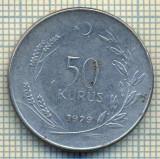 10243 MONEDA - TURCIA - 50 KURUS  -anul 1979 -starea care se vede, Africa