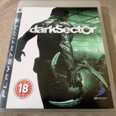 Joc Dark Sector, PS3, original, alte sute de jocuri! - Jocuri PS3 Sony, Actiune, 18+, Single player