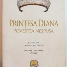 PRINTESA DIANA , POVESTEA NESPUSA de MONICA ALI , 2012