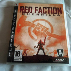 Joc Red Faction Guerrilla, PS3, original, alte sute de jocuri! - Jocuri PS3 Sony, Shooting, 16+, Single player