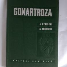 GONARTROZA - ANTONESCU, DENISCHI, CARTEA ESTE CA NOUA . - Carte Ortopedie