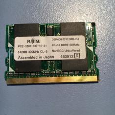 DDRAM FUJITSU P7120 512MB D2P400