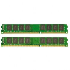 KIT Memorie RAM Kingston 8GB DDR3 1333MHz CL9 2xKVR13N9S8/4, Dual channel