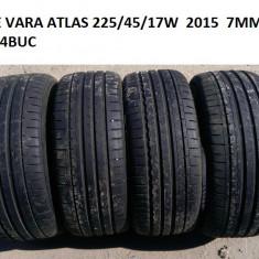 ANVELOPE VARA 225/45/17 7MM 2015 FARA DEFECTE, R17