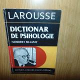 DICTIONAR DE PSIHOLOGIE -NORBERT SILLAMY ANUL 1996