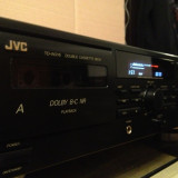 JVC model TD-W 216 - Stereo Double Cassette Deck - Arata/Functioneaza Impecabil - Deck audio