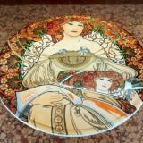 Tava fructiera tort cu paleta deosebita - Portelan, Farfurii