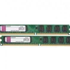 KIT Memorie RAM Kingston 8GB DDR3 1600MHz CL11 2xKVR16N11S8/4, Dual channel