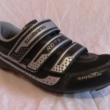 Pantofi ciclism sosea SHIMANO RO 75 marime 41 EU - Pantof barbat, Culoare: Negru