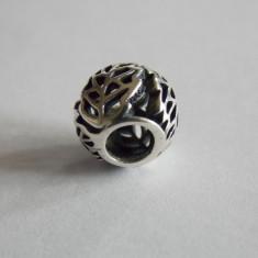 Talisman Pandora din argint -791190- open work leaves - Pandantiv argint