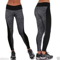 Colanti alergare FITNESS pantaloni sport sala yoga, Din imagine