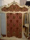 Cuier tapiserie Silik stil baroc venetian/rococo,vintage/vechi/antic, 1,5/2m, Accesorii mobilier, Dupa 1950