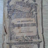 Din Biografiile Oamenilor Celebri (cu Gravuri) - Traducere De Dumitru Stancescu, 394538 - Carte veche