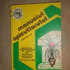 Manualul apicultorului an 1986/398pagini/96figuri ( apicultura stuparit