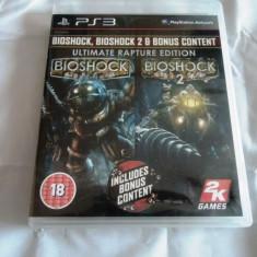Joc Bioshock Ultimate Rapture Edition, PS3, original, alte sute de jocuri! - Jocuri PS3 Sony, Actiune, 18+, Single player