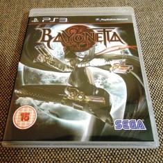 Joc Bayonetta, PS3, original, alte sute de jocuri! - Jocuri PS3 Sony, Actiune, 18+, Single player