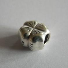 Talisman Pandora din argint -790157-trifoi cu 4 frunze - Pandantiv argint