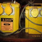 Transformatoare 3,3 KVA - 220v - 110v (pentru scule din Anglia / America)