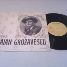 DISC VINIL TRAIAN GROZAVESCU-ARII DIN OPERE FOARTE RAR!!!!1967 ECD 1160 - Muzica Opera
