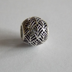 Talisman Pandora din argint -791543-tropicana palm leaf - Pandantiv argint