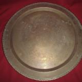 XXL tava din alama masiva pt servit diametrul de 66 cm - Metal/Fonta