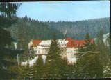 Romania - CP ilustrata circulata1987 - Stana de Vale - Hotel Iadolina, Circulata, Fotografie