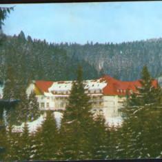 Romania - CP ilustrata circulata1987 - Stana de Vale - Hotel Iadolina - Carte Postala Crisana dupa 1918, Fotografie