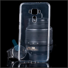Husa silicon 0.3mm transparenta cu protectie la camera pt Asus Zenfone 3 ZE552KL