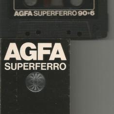 A(01)  Caseta audio-AGFA superferro 90+6