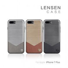 Husa iPhone 7 Plus Lensen Case by Nillkin Silver - Husa Telefon Nillkin, Argintiu, Fara snur, Carcasa