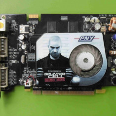 Placa Video PNY GeForce 7600GT 256MB DDR3 128biti PCI-E - ARTEFACTE - Placa video PC PNY, PCI Express, nVidia