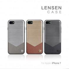 Husa iPhone 7 Lensen Case by Nillkin Black - Husa Telefon Nillkin, Negru, Fara snur, Carcasa