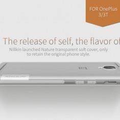 Husa OnePlus 3 A3000 TPU Nature by Nillkin Transparenta - Husa Telefon OnePlus, Universala, Gel TPU, Fara snur, Carcasa
