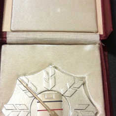 Placheta Cupa Federatiei Romane de hochei - Medalii Romania