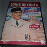 Colectia Louis de Funes - Jandarmii - Colectie 6 DVD-uri cu subtitrare in romana