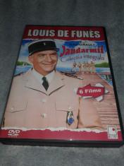 Colectia Louis de Funes - Jandarmii - Colectie 6 DVD-uri cu subtitrare in romana foto