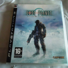 Joc Lost Planet Extreme condition, PS3, original, alte sute de jocuri! - Jocuri PS3 Altele, Actiune, 18+, Single player