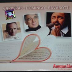 CARRERAS-DOMINGO-PAVAROTTI - 2007 Nova Music - Muzica Opera nova music, CD