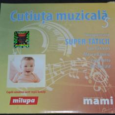 CUTIUTA MUZICALA 5 - SUPER TATICII - 2009 Media PRO Music & Events Romania - Muzica pentru copii mediapro music, CD