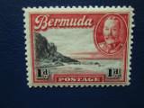 TIMBRE ANGLIA/COLONII BERMUDA=SERIE MNH, Nestampilat