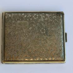 TABACHERA alpacca argintata